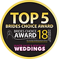 Bride's Choice Award 2018 Top 5