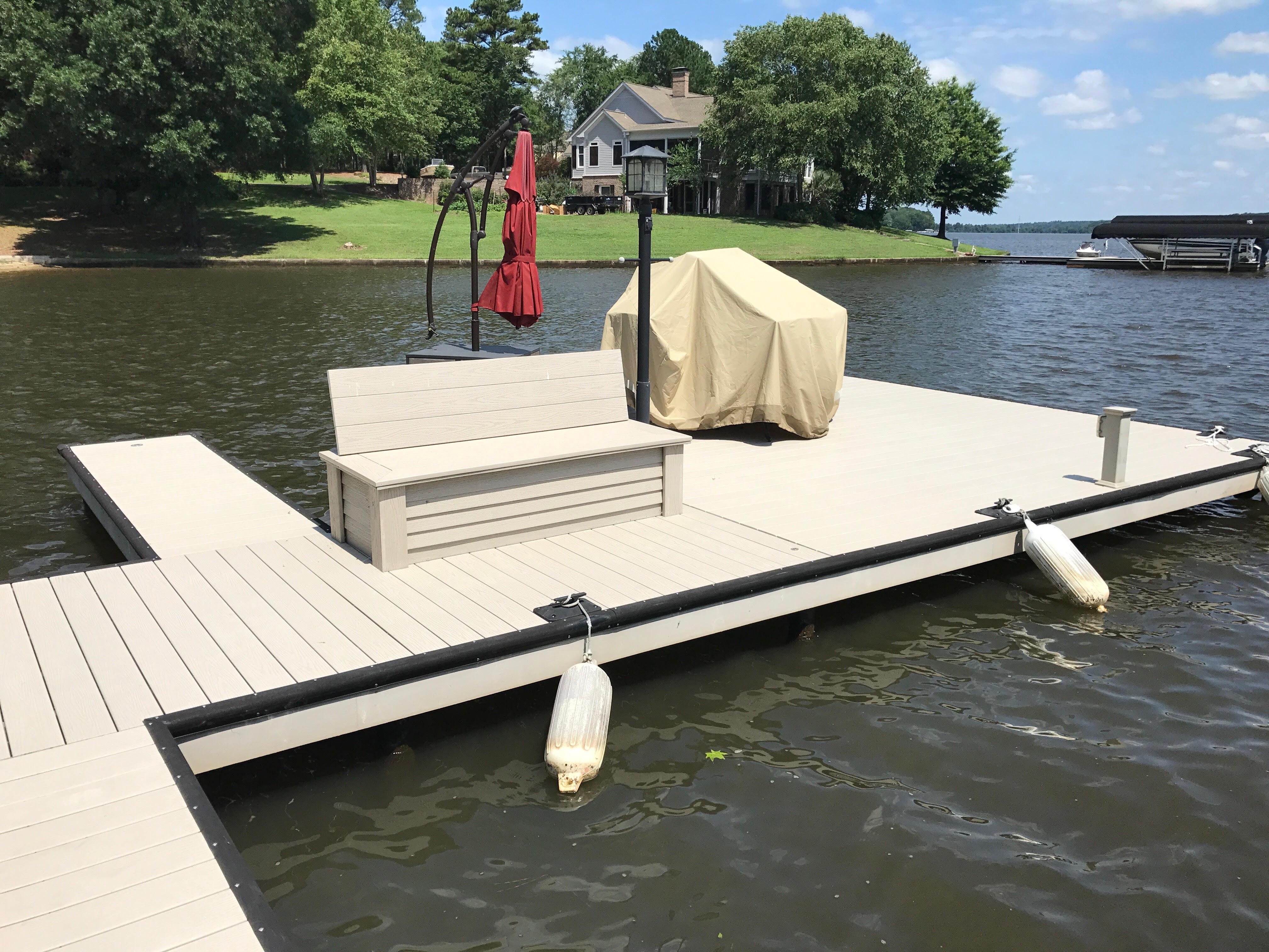 Custom Dock Renovation Lake Oconee