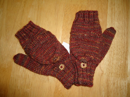 Fingerless Gloves/Mittens, Multi