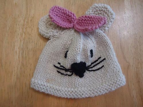 Mouse Hat, Infant Size