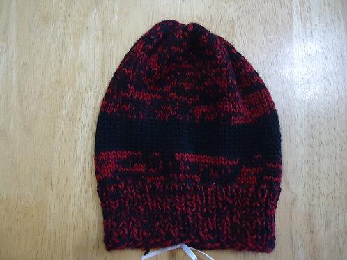 Adult Hat - Red & Black