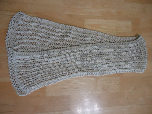 Scarf, light grey