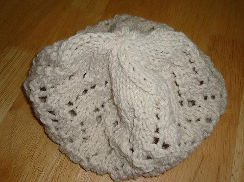 Ladies Slouch Hat, Cream