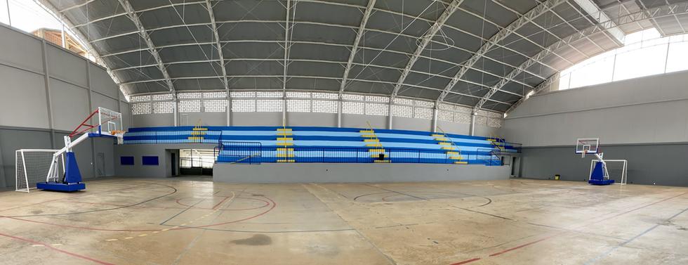 Arquibancada Centro Cultural e Poliesportivo