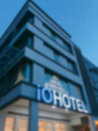 iO Hotel front view