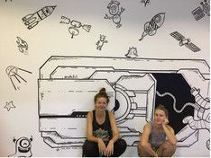 Wall doddle by them :)