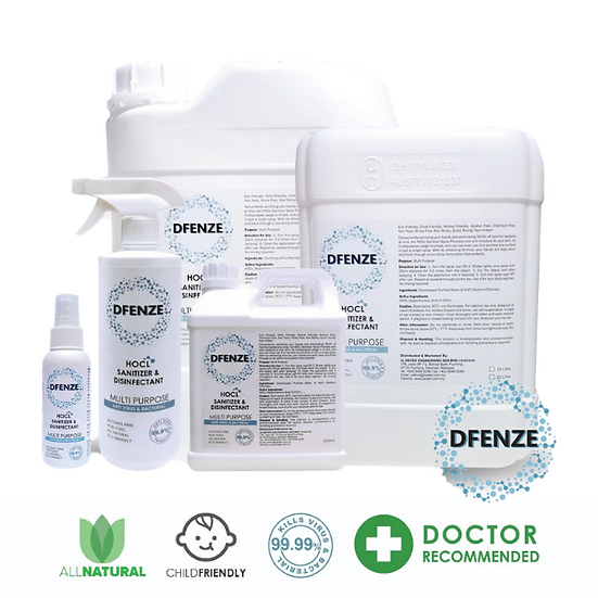 Dfenze |  Sanitizer & Disinfectant
