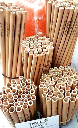 50 Bamboo Straws