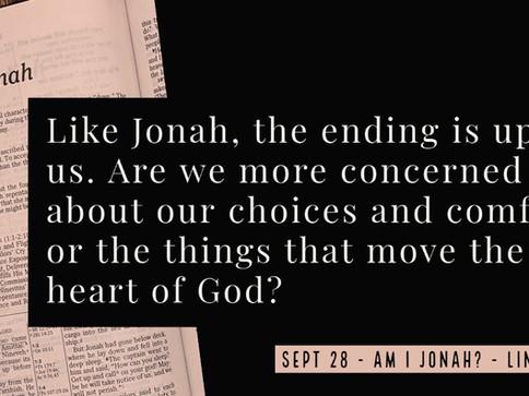 Am I Jonah?