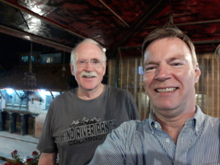 Traveling with Keith Hagon, CCI-UK Director