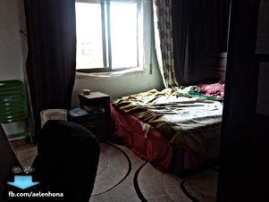 شقة مفروشة للايجار في السلط/ البحيرة - قرب مدرسة عائشة بنت ابي بكر الصديق