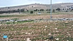 ارض للبيع في موبص/ السفوح الغربي - قرب شارع الأردن