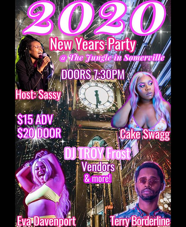 2020 NYE Party @ The Jungle
