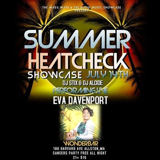 Summer HeatCheck @ Wonderbar