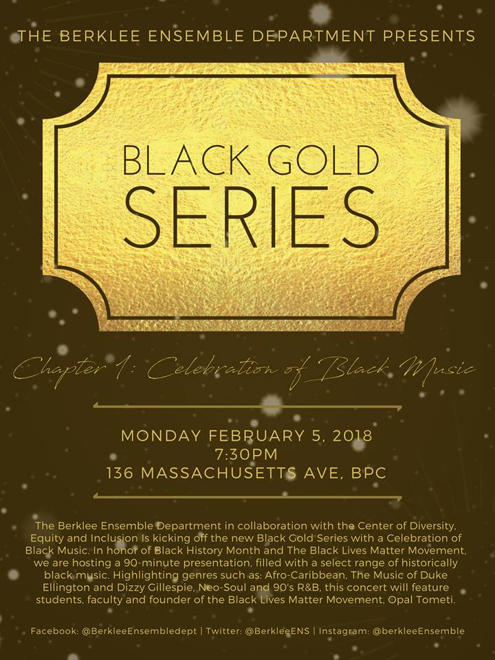 Black Gold Series Berklee