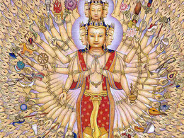 Avalokitesvara and the Ice Cream Scoop of Compassion