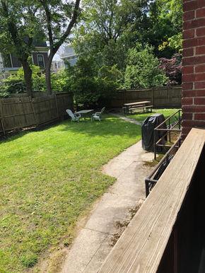 Very large shared backyard!