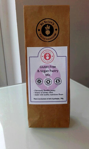 Gluten free and Vegan Pastry Mix