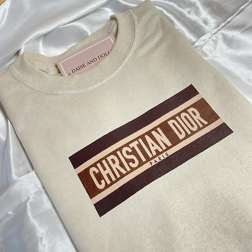 Light Cocoa Christian Tee