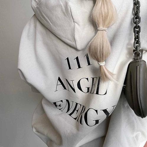 Angel Energy Hoodie Tan