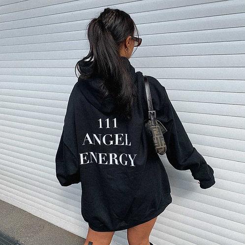 Angel Energy Hoodie black