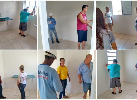 Vistorias são iniciadas no Residencial Jardim dos Ipês II em Tabatinga/SP.