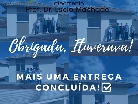 ENTREGA DAS CHAVES - RESIDENCIAL PREF. DR. LÚCIO MACHADO