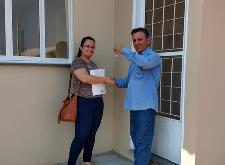 138 Famílias em São José do Rio Preto recebem chave da sua casa própria!