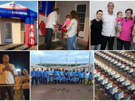 144 Famílias de Taquaritinga-SP recebem a chave de sua casa própria!