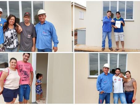 46 Famílias da cidade de São José do Rio Preto realizaram um sonho e receberam a chave de suas casas