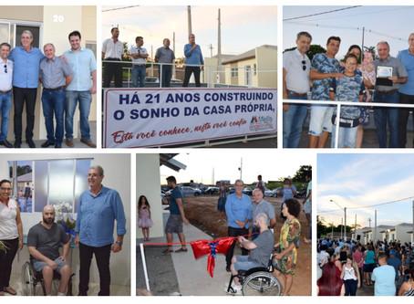120 famílias do Parque das Flores, Monte Alto-SP recebem suas chaves!