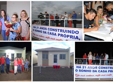 50 Futuros moradores do Jardim Mirante, Ibitinga-SP recebem a chave de sua casa própria!