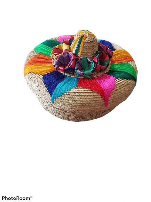 Tortillero de palma sombrero
