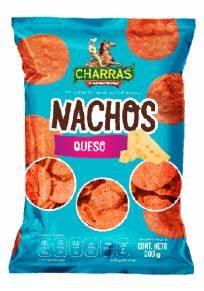 Totopos Nachos queso Charras 200gr