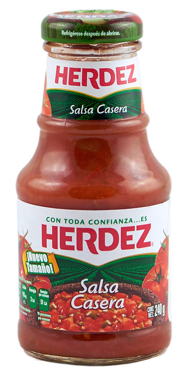 Salsa casera Herdez 240g