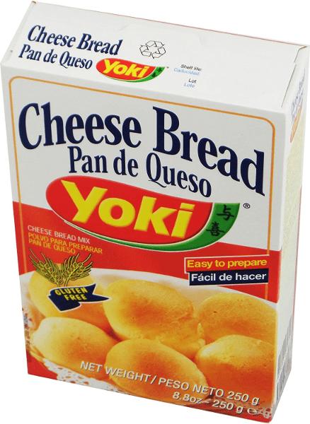 Preparation Pan de queso