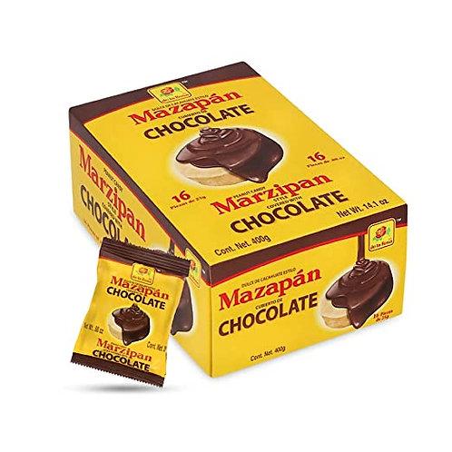 Mazapan chocolat 16 pièces