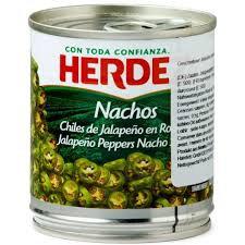 Nachos jalapeño en rodajas Herdez 200 g