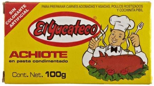 Achiote El yucateco 100g