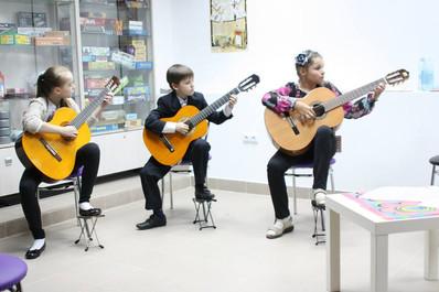 """Обучение игры на гитаре """"Музыкальная теория струн"""""""
