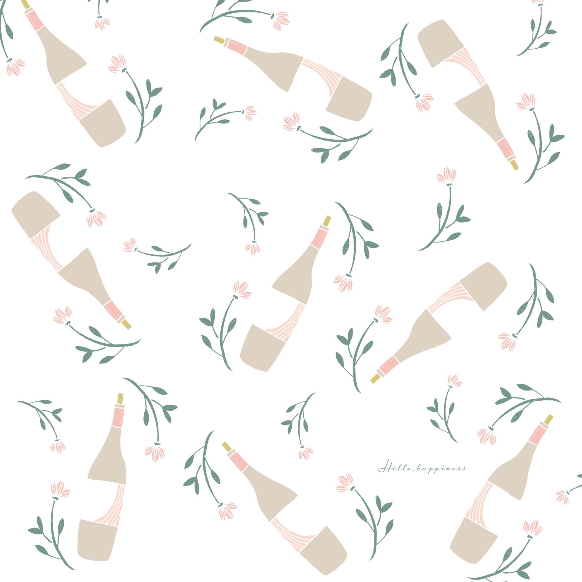 wine paper design