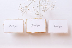 Thank you card 縁