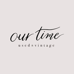 ourtime カリグラフィーロゴデザイン