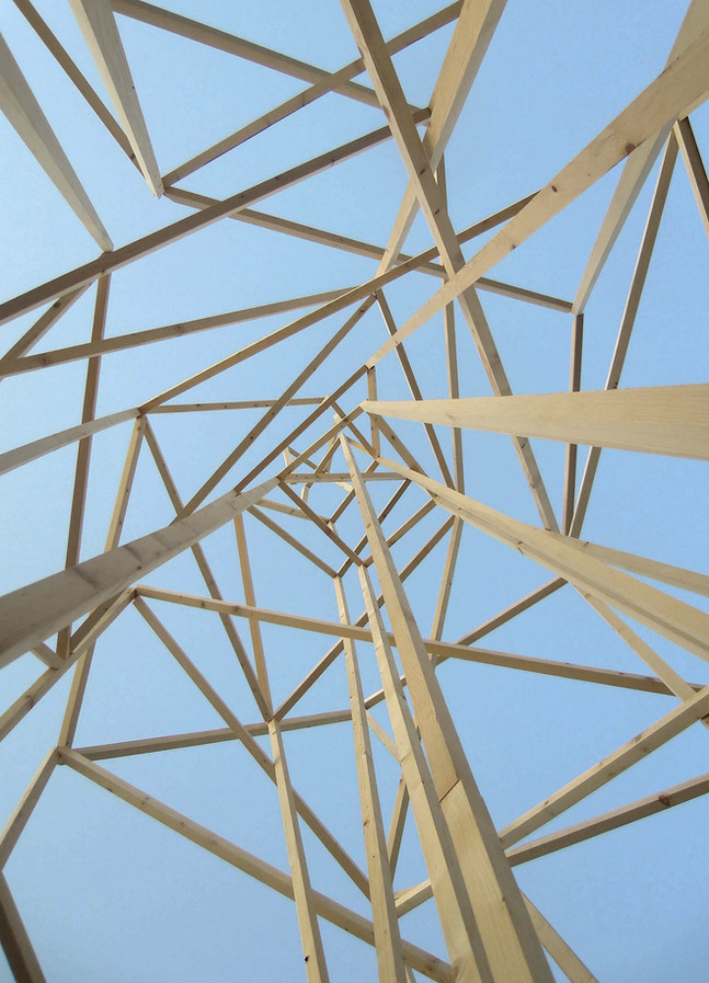 Detail, The tower, Installation