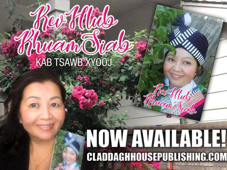 Congratulations to Kab Tsawb Xyooj on Her New Book!