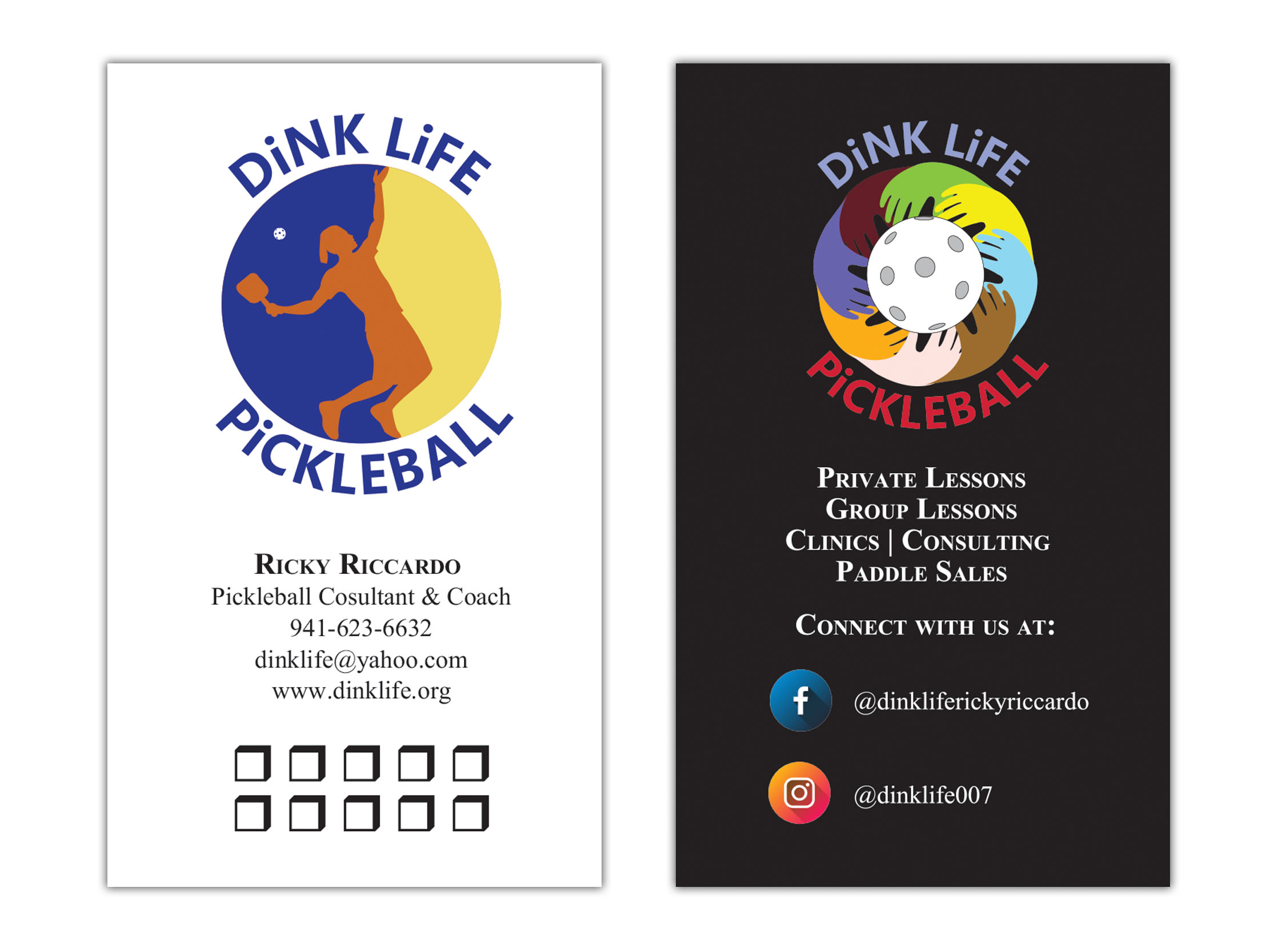 DiNK LiFE Business Card