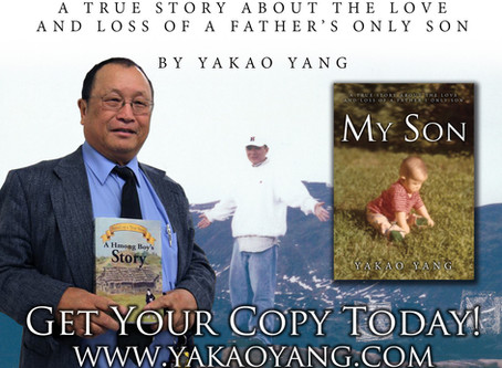 Yakao Yang's New Book, My Son is Now Available!