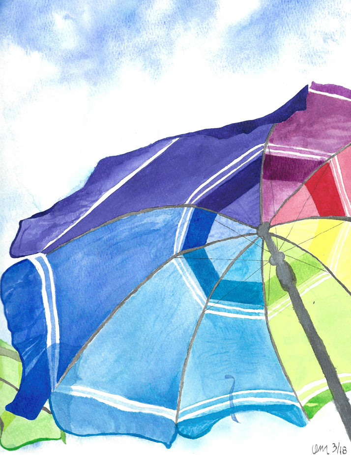 Umbrella Paiting