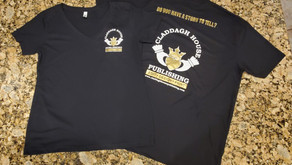 The New Claddagh House Publishing T shirts have arrived!