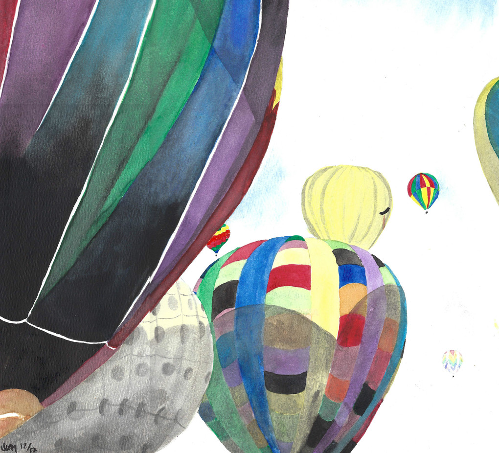Hot Air Balloons Painting